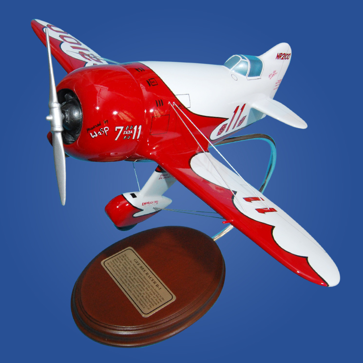 Alien Aircraft Gee Bee Sport Kit Build Along: Gee Bee Racer R1 Model Scale:1/25