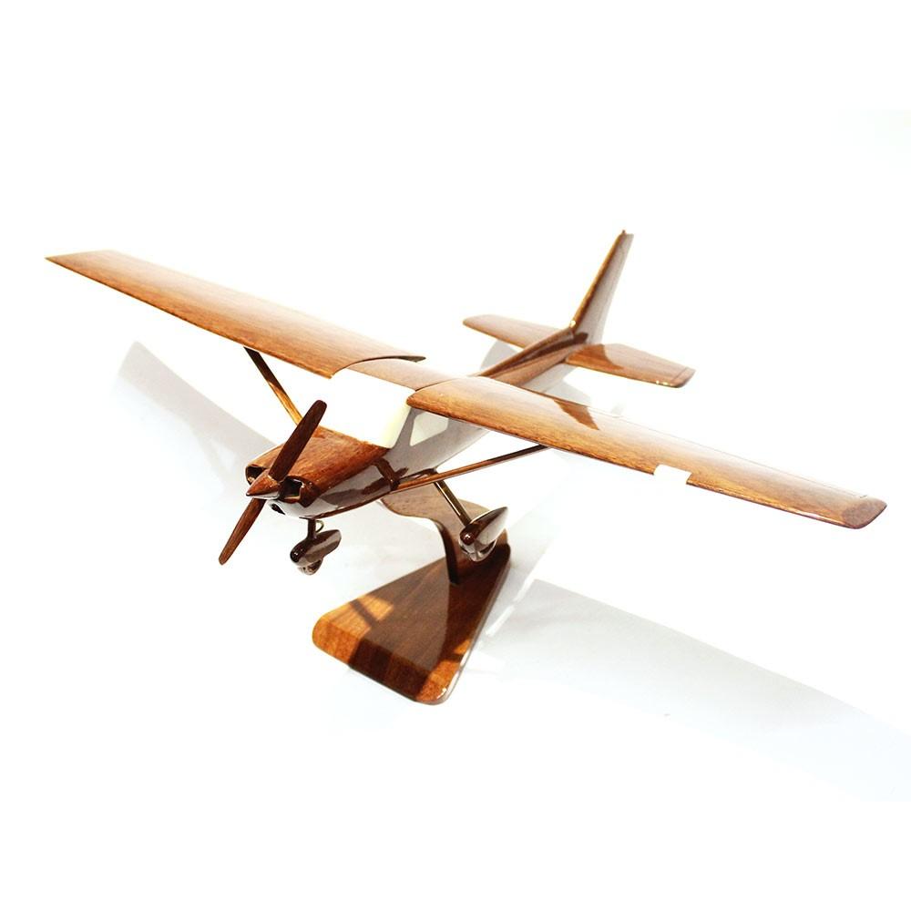 Cessna 172 Airplane Mahagony Wooden Model