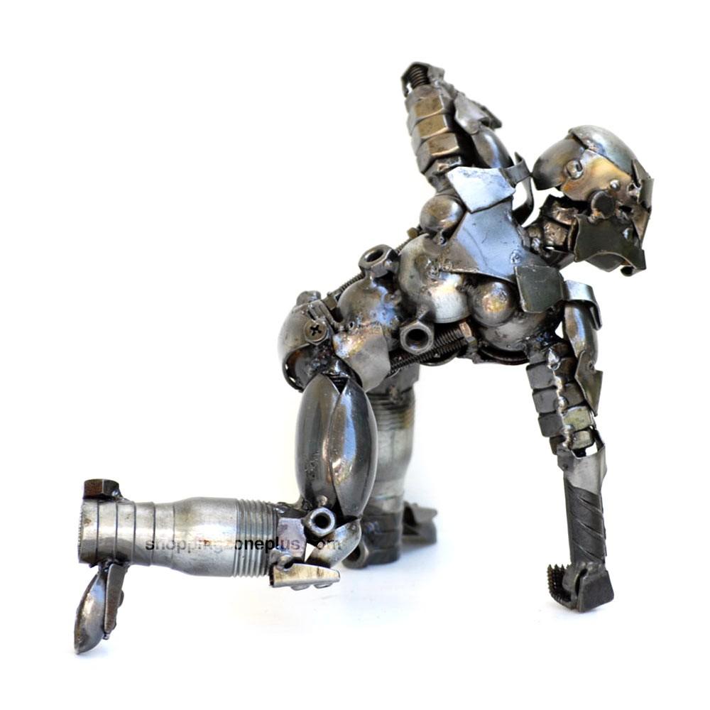 Iron Man Scrap Metal Sculpture Model Recycled Infinity War