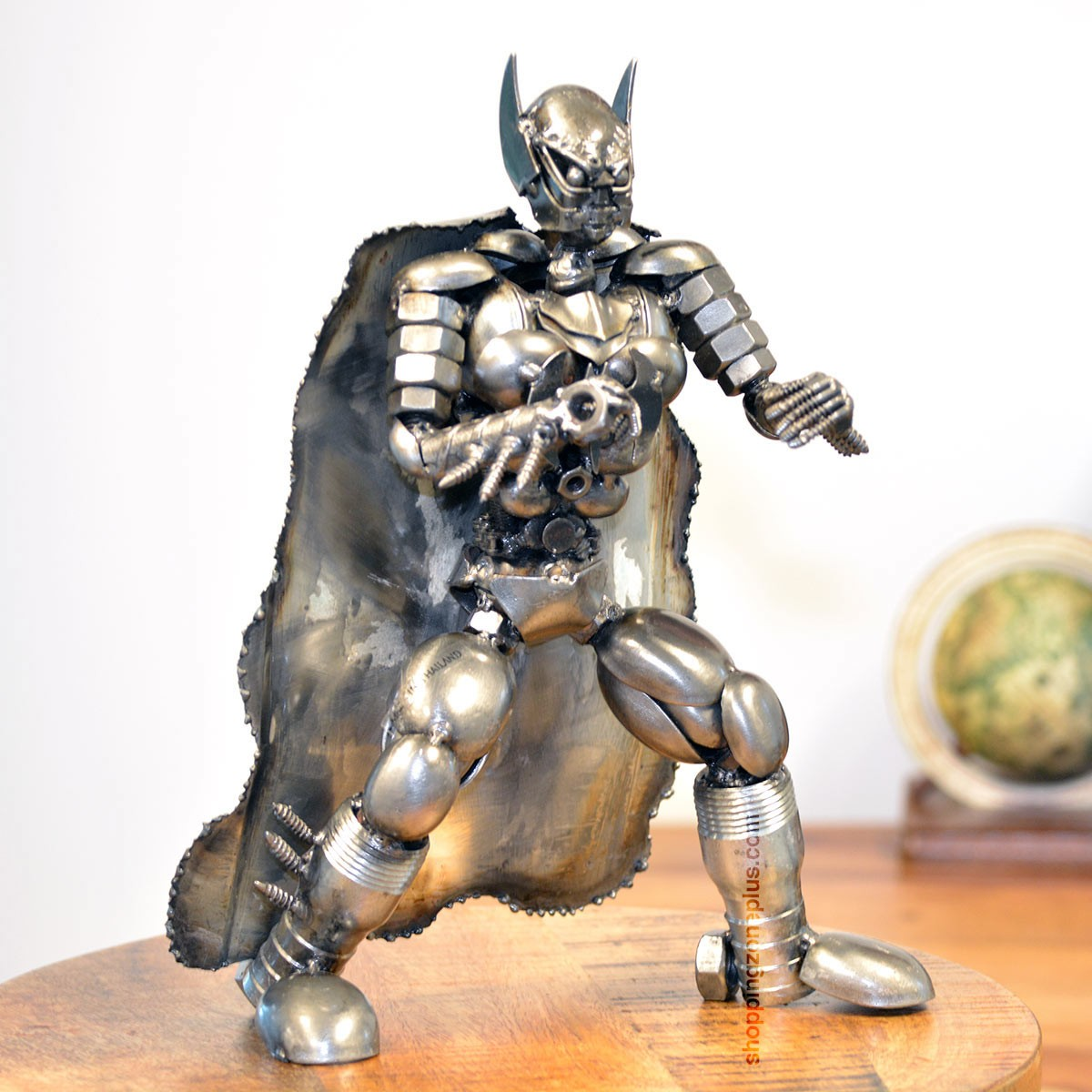Batman metal sculpture marvel warrior model recycled