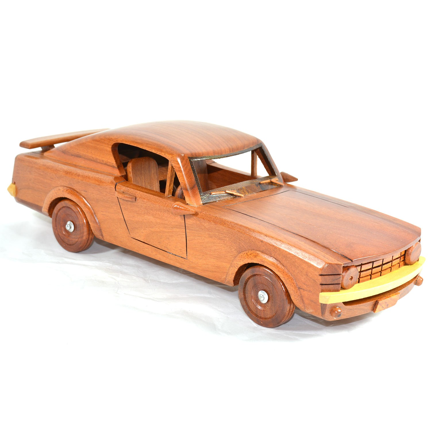 Ford Sports Car Models: Ford Mustang Sports Wooden Car Model