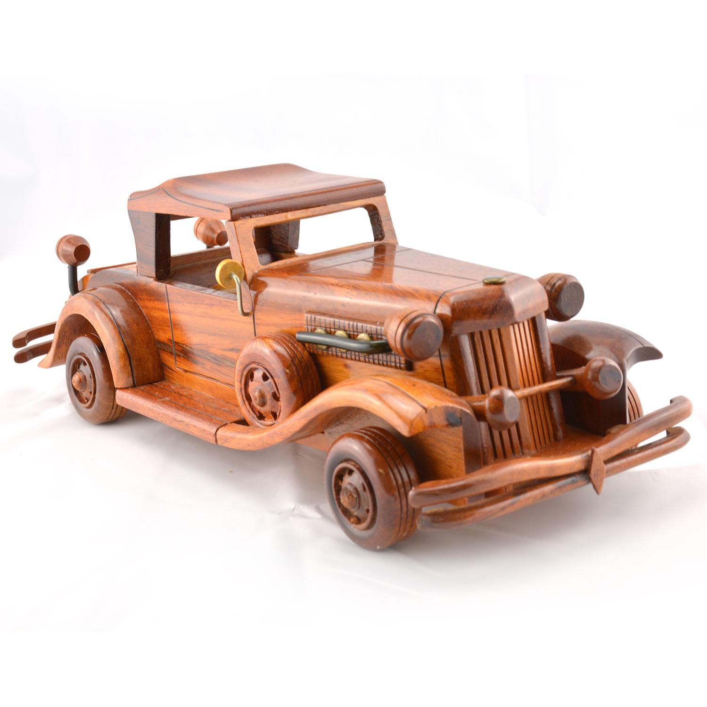 Duesenberg Wooden Car Model (Citroen)   1932-1937 Wooden Scale Model Car