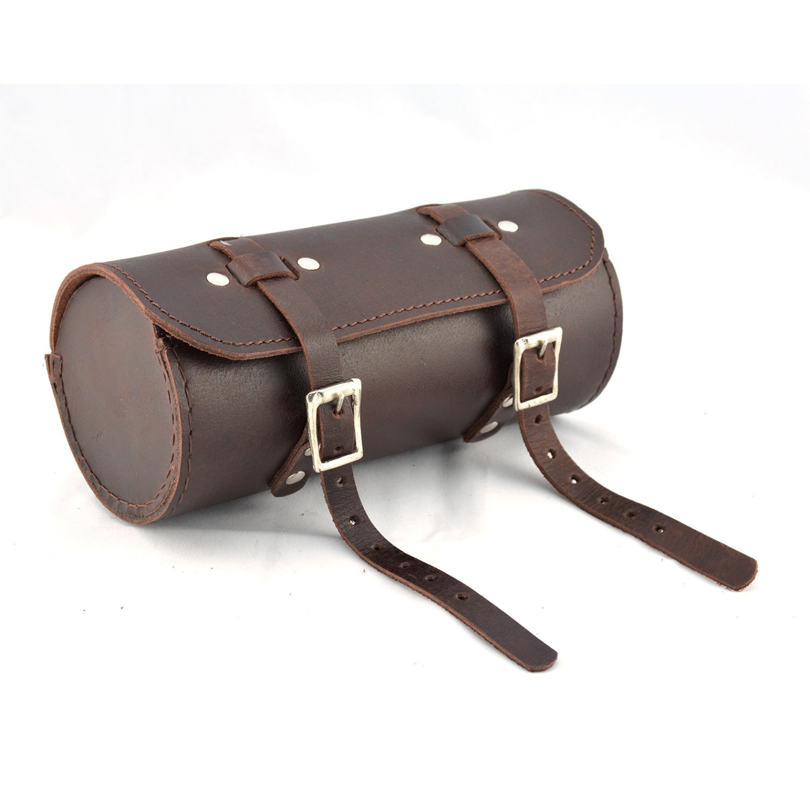 Genuine Leather Bicycle Saddle Bag Utility Tool Box kit vintage handmade stitch
