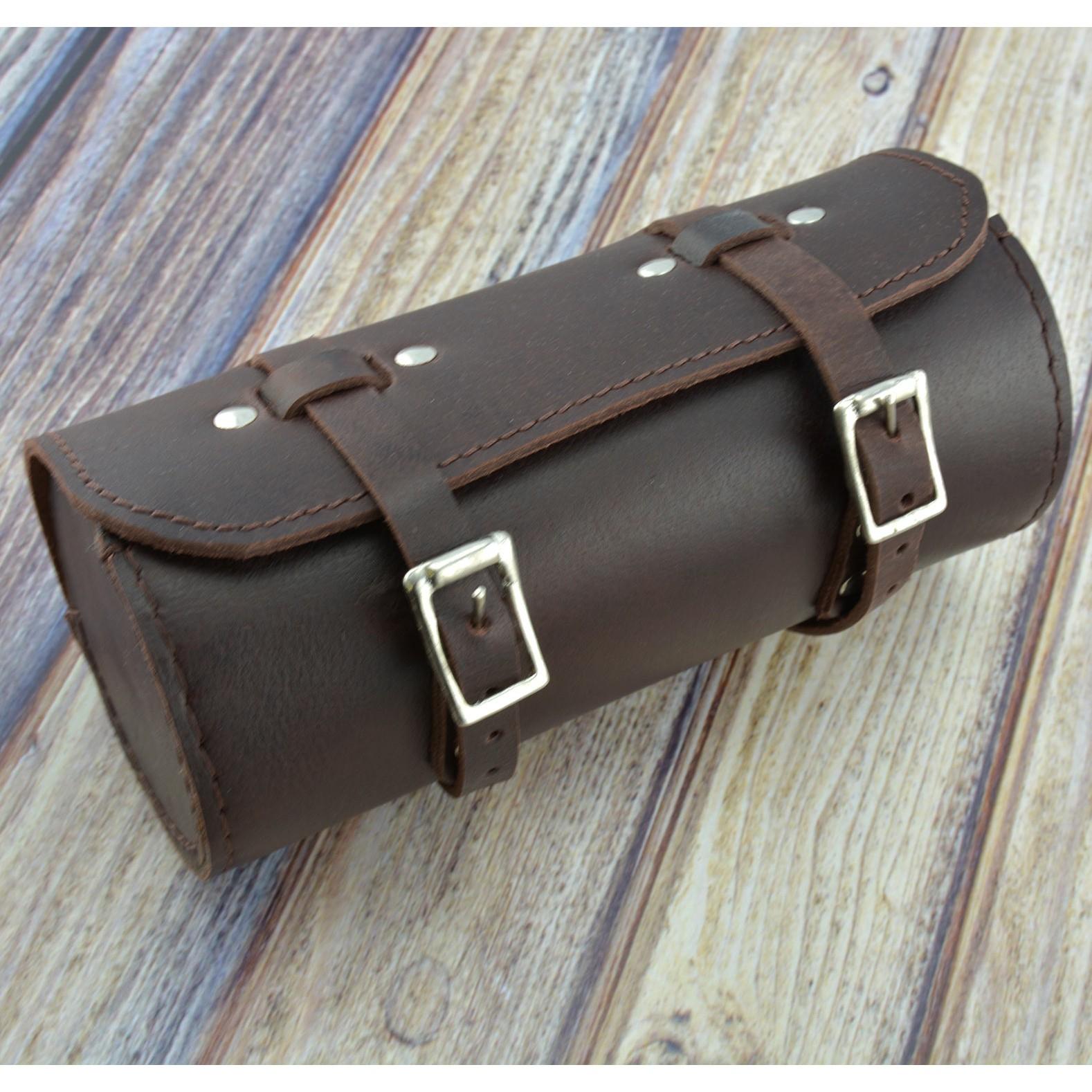 Bicycle Leather Saddle Bag Utility Tool Box Vintage Schwinn