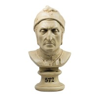 Dante Bust - Architectural Replicas of historical buildings