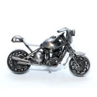 Metal Sculpture of Ducati Sport Motorcycle