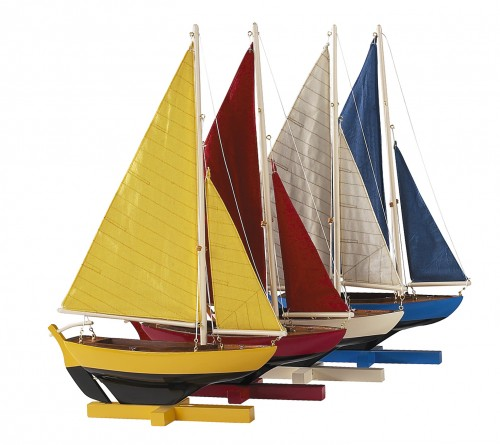 Sunset Sailers Yacht, Set Of 4 Models - Sunset Sailors Model Yacht Standard Range