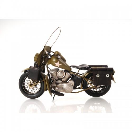 1942 Yellow Harley-Davidson Model