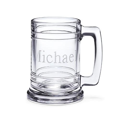 Clear Glass Maritime Beer Mug - Sports Mug
