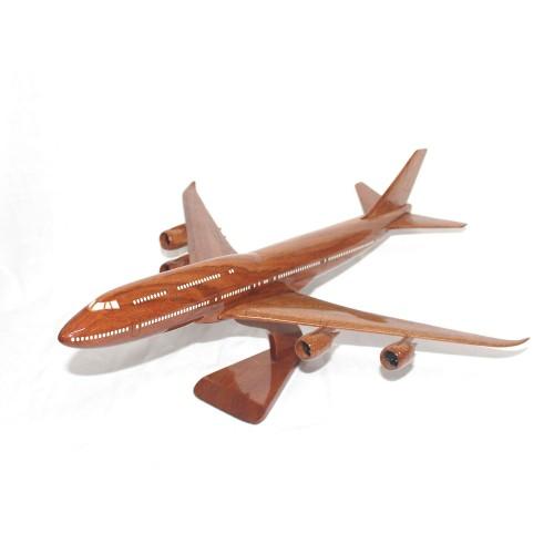 Boeing 747 Wood airplane model