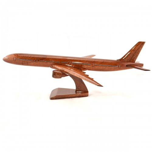 Boeing 777 wooden airplane model - B777