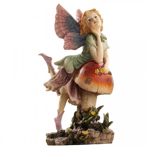 Fairy Dust On Mushroom  is a great unique gift for Fairy lovers