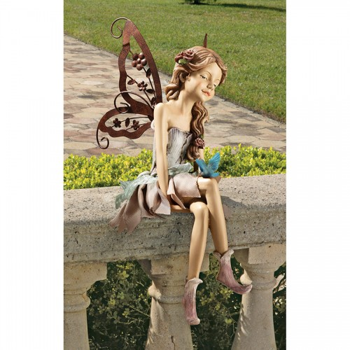 Fannie The Fairy Sitting Statue  is a great unique gift for Fairy lovers