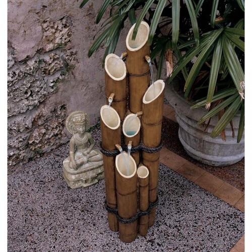 Cascading Bamboo Fountain