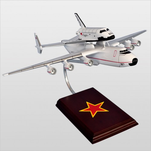 Antonov AN-225 Dream w/ Shuttle USSR Model Scale:1/200