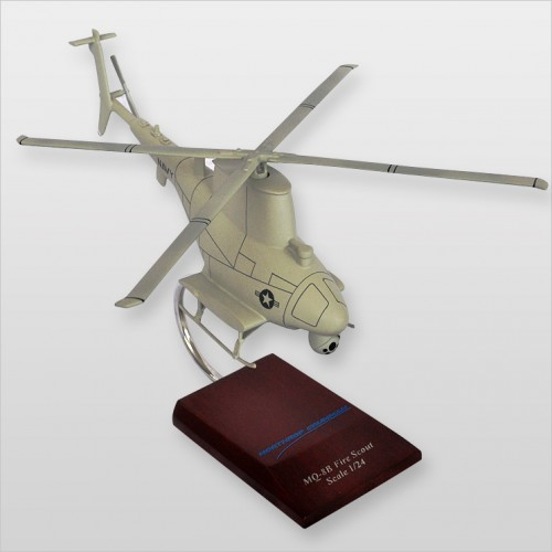 MQ-8B Navy Fire Scout Model Scale:1/24