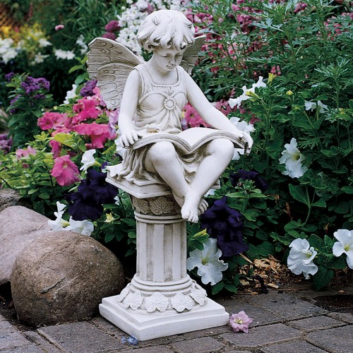 British Reading Fairy Statue  is a great unique gift for Fairy lovers
