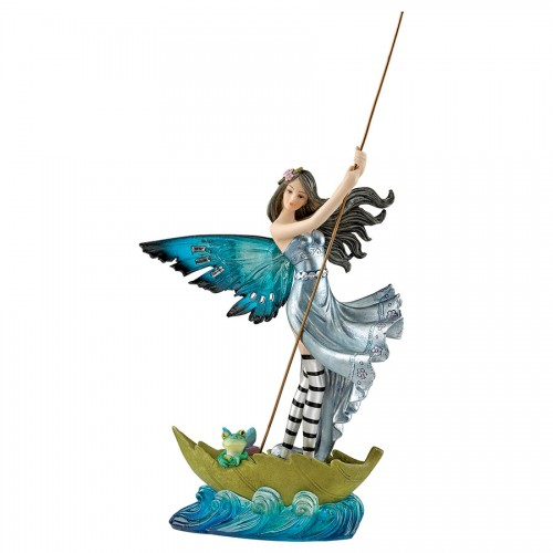 Crossing The Puddle Fairy Statue  is a great unique gift for Fairy lovers