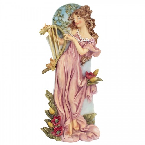 Summer Art Nouveau Maiden Statue  is a great unique gift for Art Deco Statues lovers