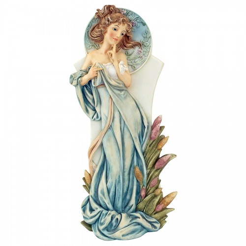 Spring Art Nouveau Maiden Statue  is a great unique gift for Art Deco Statues lovers