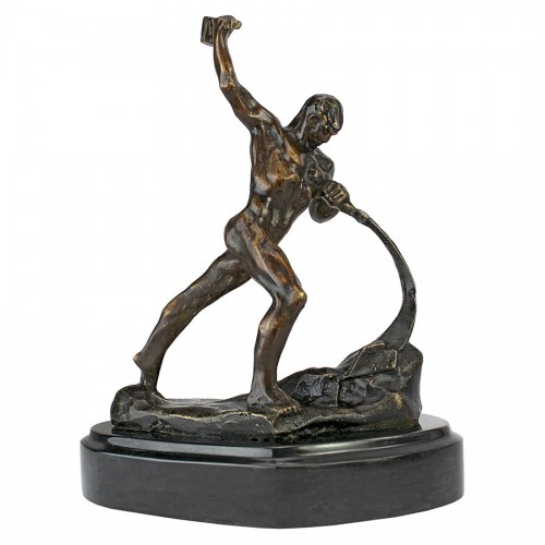 Strength Of Man Bronze  is a great unique gift for Art Deco Statues lovers