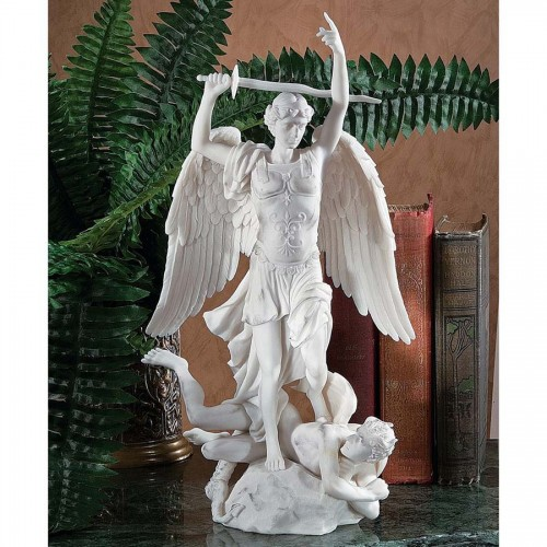 L Archange Saint Michel By Duret  is a great unique gift for Marble Statues lovers