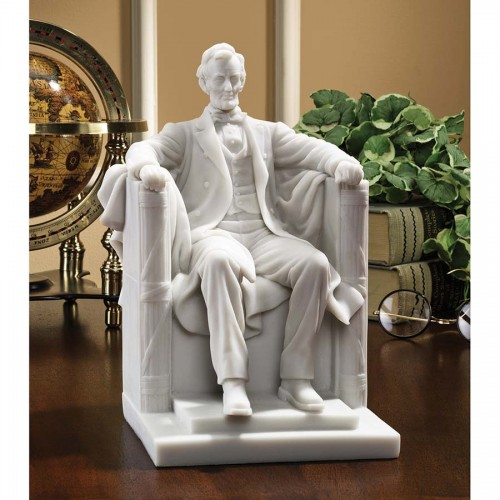 Abraham Lincoln Memorial  is a great unique gift for Marble Statues lovers