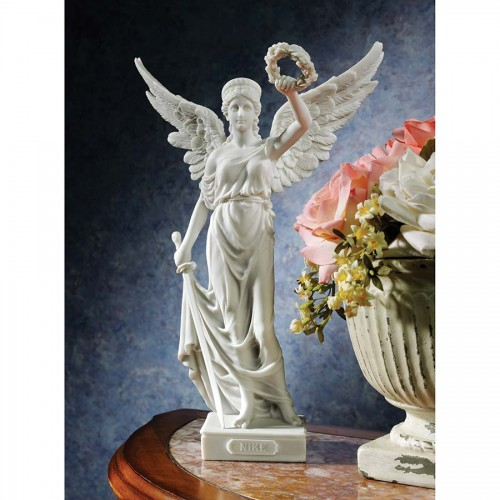 Nike Winged Goddess Of Victory Statue is a great unique gift for Marble Statues lovers