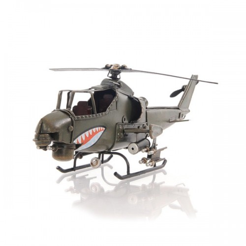 Handcrafted Iron framed Ah-1G Cobra 1:16 scaled aviation model
