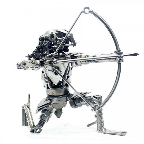 Alien Sculpture : Metal art model
