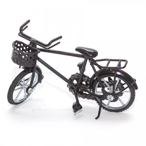 Boy Bicycle Sculpture Model Metal