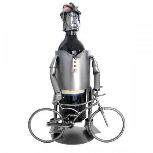 Mountain Biking Wine Bottle Holder