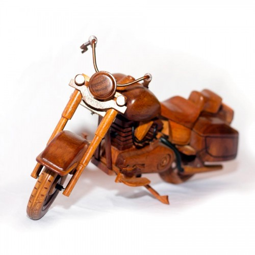 Wooden BMW Motorcycle : Handcrafted Model Motorcycle