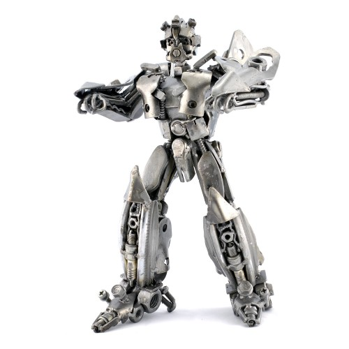 Bumblebee Metal Sculpture - Transformers Movie