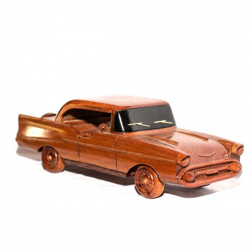 1957 Chevy Belair Wooden Car model