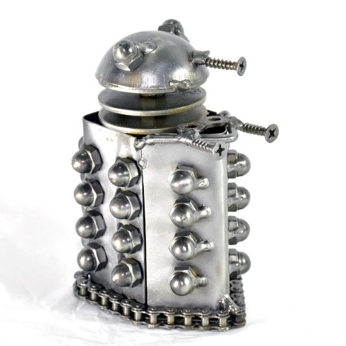 Dalek from Dr. Who Mini Robot - Metal Sculpture Model