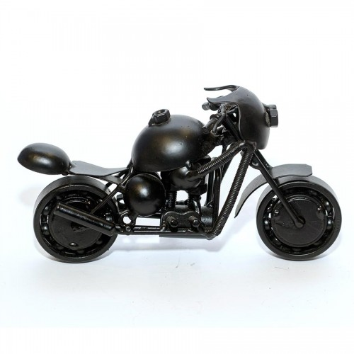 Ducati Sport : Motorcycle Metal Sculpture - 18cm, Black Medium (SPO2)