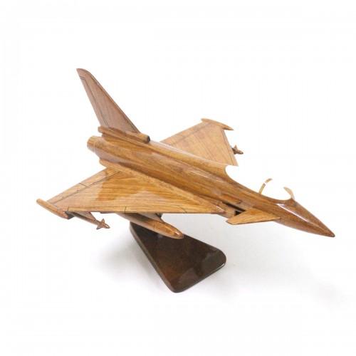 Eurofighter Typhoon - Combat aircraft Mahogany Wooden Model