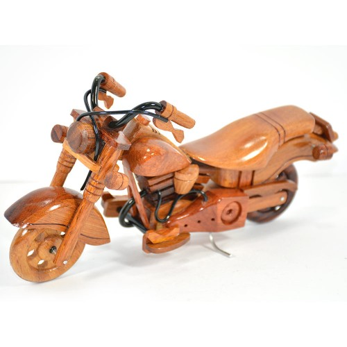 Harley Davidson Wooden Motorcycle Model : Fat Boy