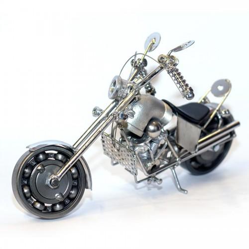 Metal Harley Davidson Sculpture