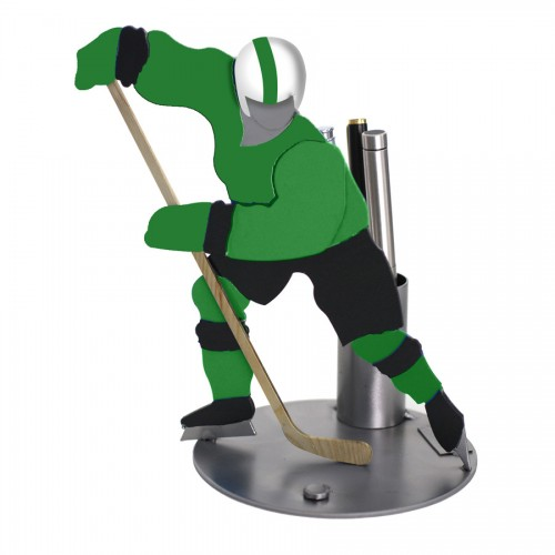 Hockey Pen Holder | Metal Business card holder