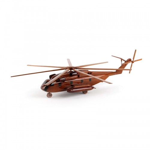 CH-53 Sea Stallion Wooden Helicopter Model