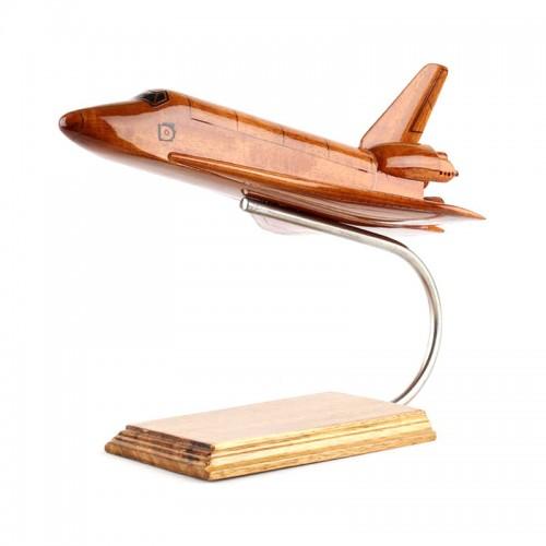 Scale Space Shuttle Orbiter Wood Model