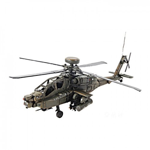 Ah-64 Apache 1:24 Scale Model Helicopter