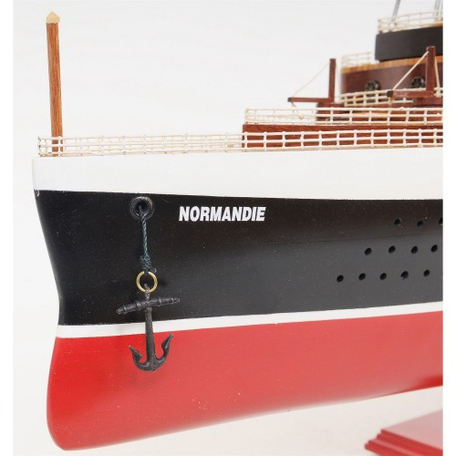 Normandie Painted Large   Cruise Ships Model
