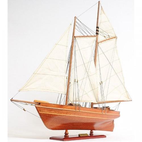 America Schooner 1851 Model Ship | Yacht Sail Boats Sloop Wooden Model