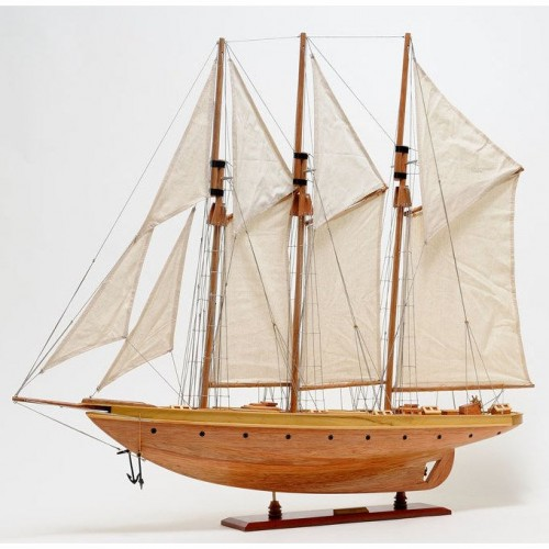 Atlantic Yacht | Yacht Sail Boats Sloop Wooden Model