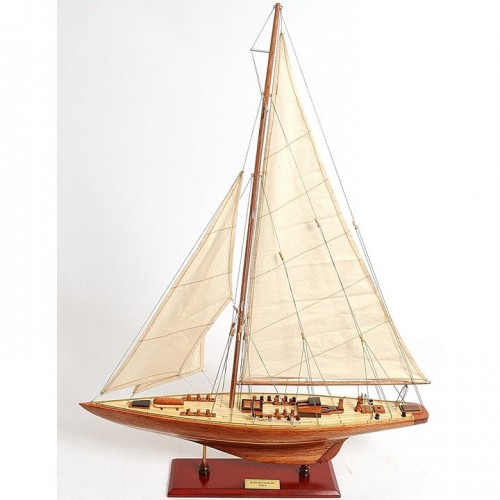Endeavour Sm | Yacht Sail Boats Sloop Wooden Model