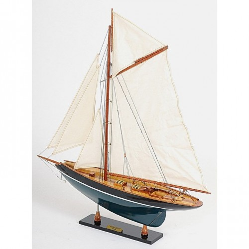 Pen Duick Painted | Yacht Sail Boats Sloop Wooden Model