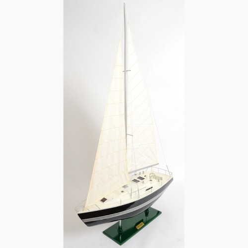 Victory Yacht Painted | Yacht Sail Boats Sloop Wooden Model